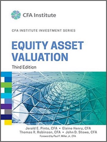 Equity Asset Valuation, 3rd edition (CFA series)