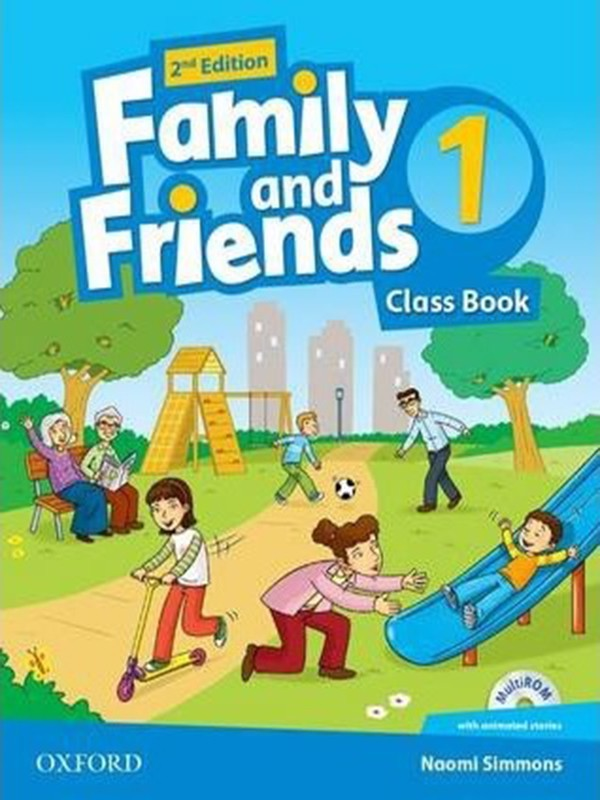 Family and Friends: Class Book with Student MultiROM: Level 1
