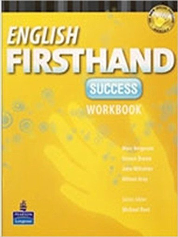 English Firsthand Success: Workbook