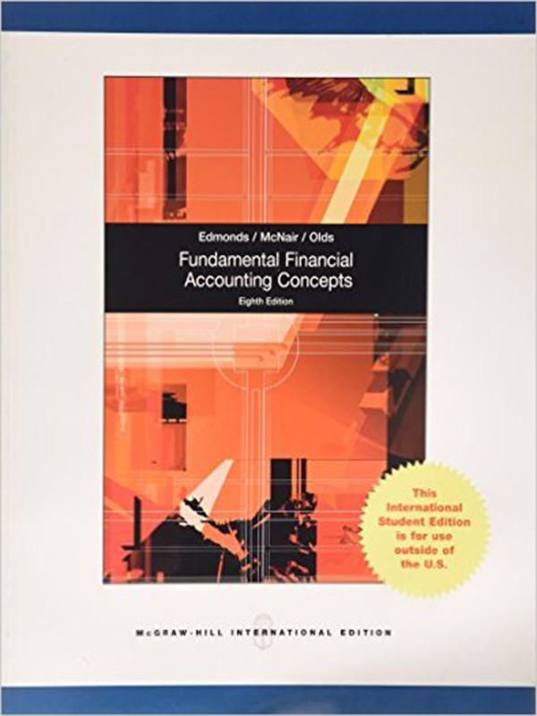 Fundamental Financial Accounting Concepts, 8e, IE