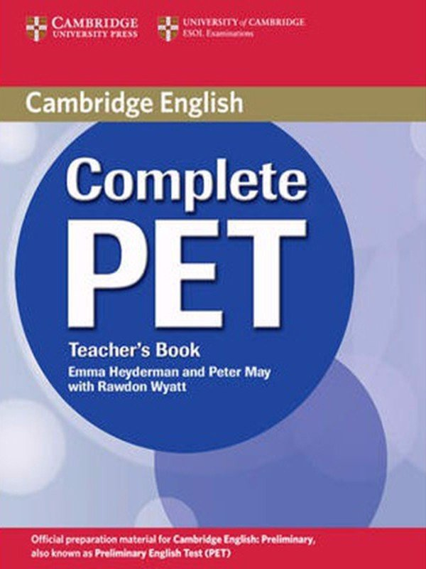 Complete PET: Teacher Book