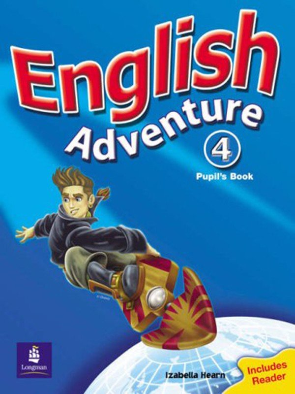 English Adventure Level 4: Pupils Book Plus Reader