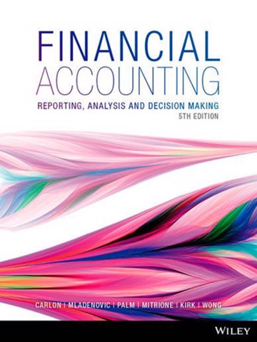 Financial Accounting: Reporting, Analysia and Decision Making, 5e