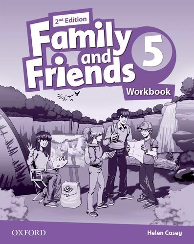 Family & Friends (2 Ed.) 5 Workbook