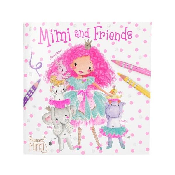 TM010623 BST tô màu Princess Mini and Friends Colouring Books