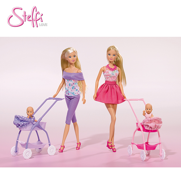 105733067 Búp bê Steffi Love Baby Walk, 2-ass.