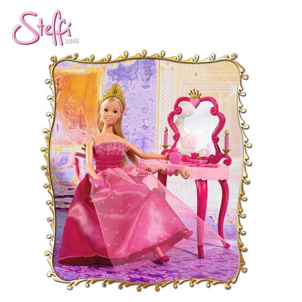 105733197 Búp bê Steffi Love Fairytale Beauty Table