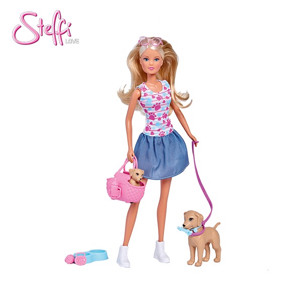 105733310 Búp bê Steffi Love Puppy Walk