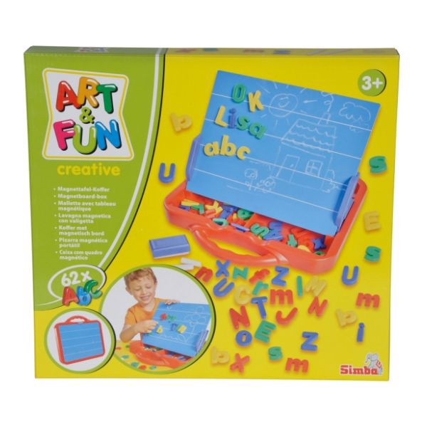 106304026 A&F ABC Magnetic Board in Case - Vali bảng nam châm ABC