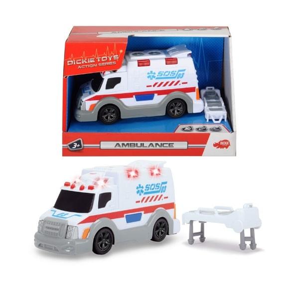 203302004 Xe cứu thương Dickie Toys 15cm