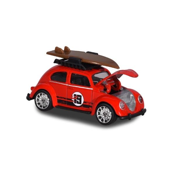 212052016TO9 Xe Mô Hình MAJORETTE VW Beetle Surfing Toy Fair 2019