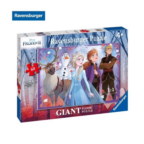 Xếp hình puzzle 60 mảnh Frozen 2 Through the magic forest RV03031 6