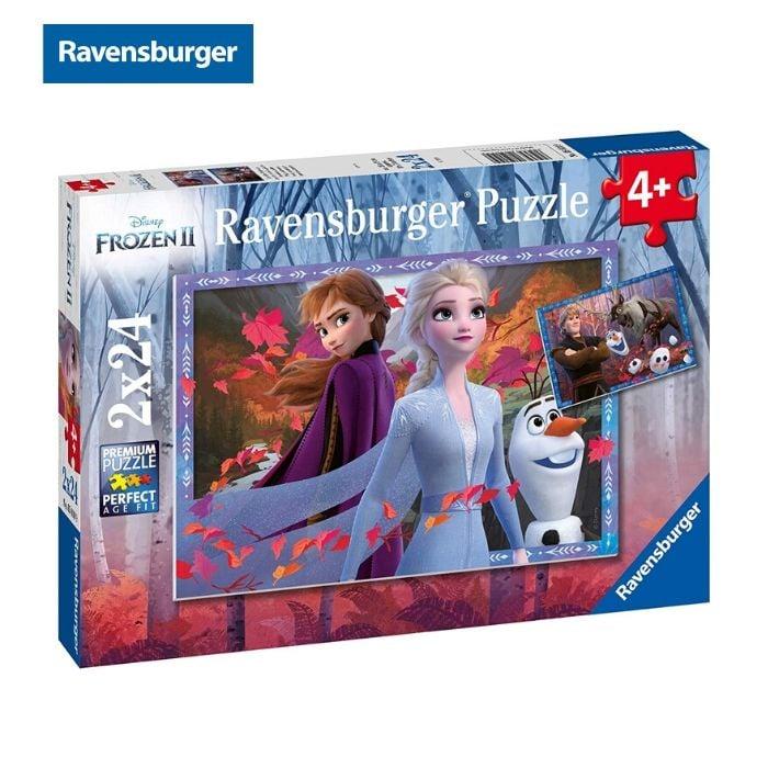 Xếp hình Frozen 2: Frosty Adventure 2x24 mảnh Ravensburger RV050109