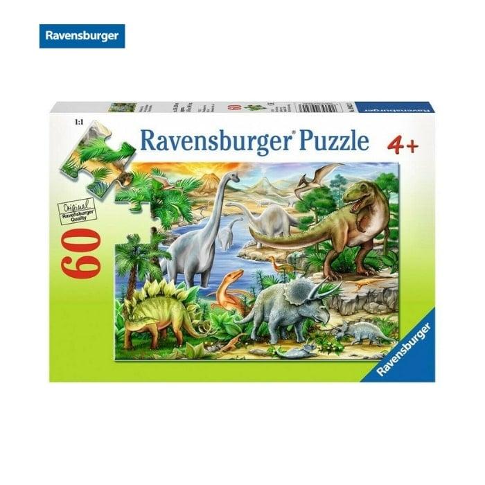Xếp hình puzzle khủng long Primeval Ruler 60 mảnh Ravensburger 09621 3