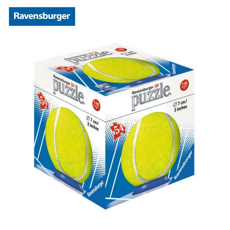 Xếp hình puzzle 3D quả banh các loại 54 mảnh Ravensburger RV118687