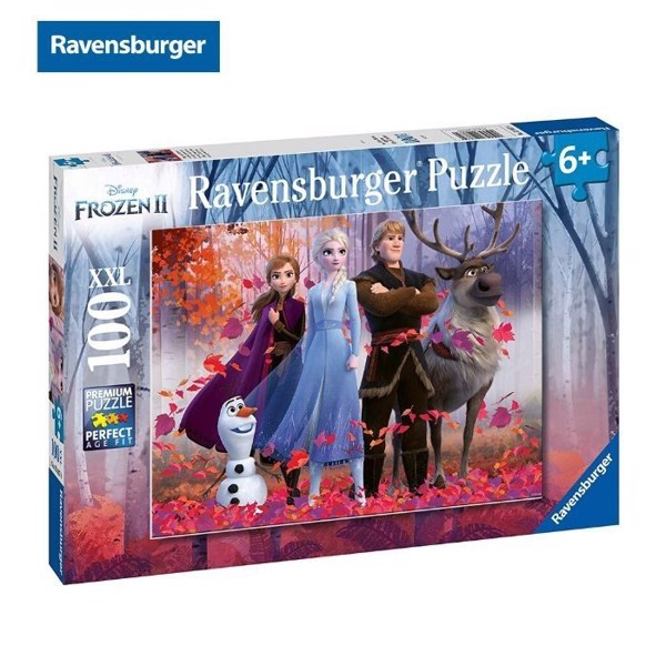 Xếp hình puzzle Frozen 2: Magic of the Forest 100 mảnh Ravensburger RV128679