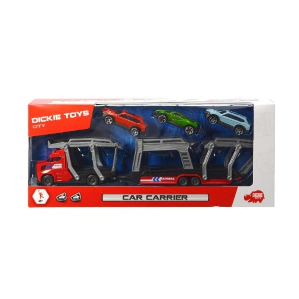 203745008 Bộ Đồ Chơi Xe Kéo Kèm 3 Ô Tô DICKIE TOYS Car Carrier