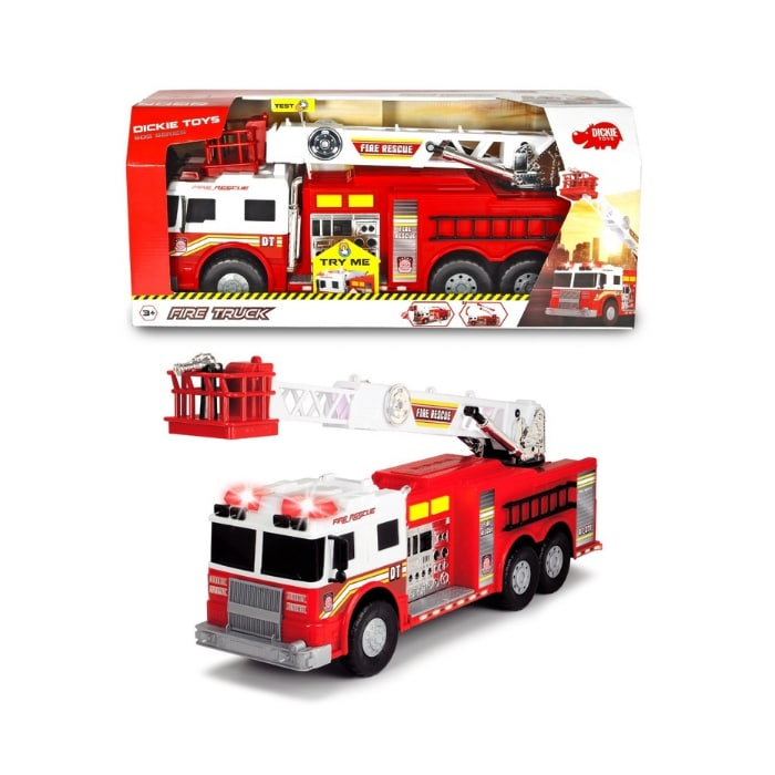 203719008 Đồ Chơi Xe Cứu Hỏa Dickie Toys DICKIE TOYS Fire Truck