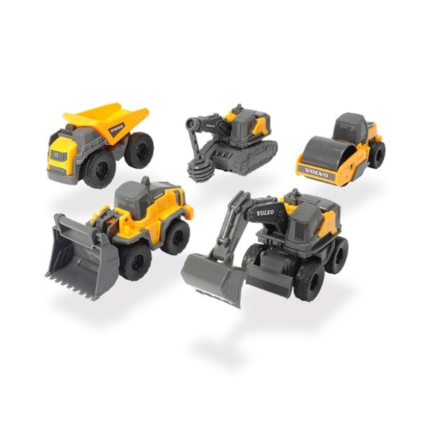 203722008 Bộ Đồ Chơi Xe Xây Dựng DICKIE TOYS Volvo Micro Workers