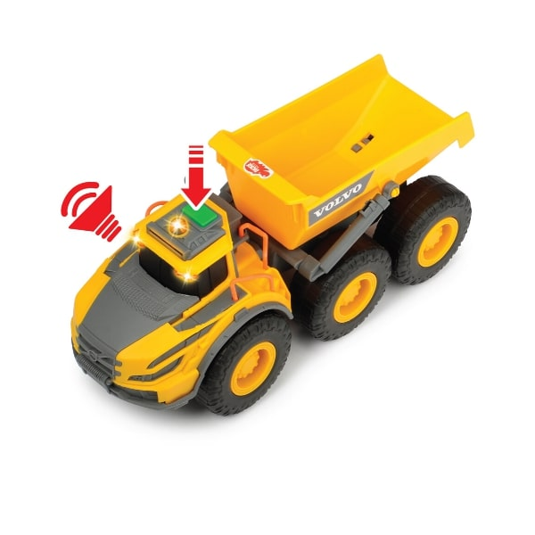 203723004 Đồ Chơi Xe Xây Dựng DICKIE TOYS Volvo Articulated Hauler