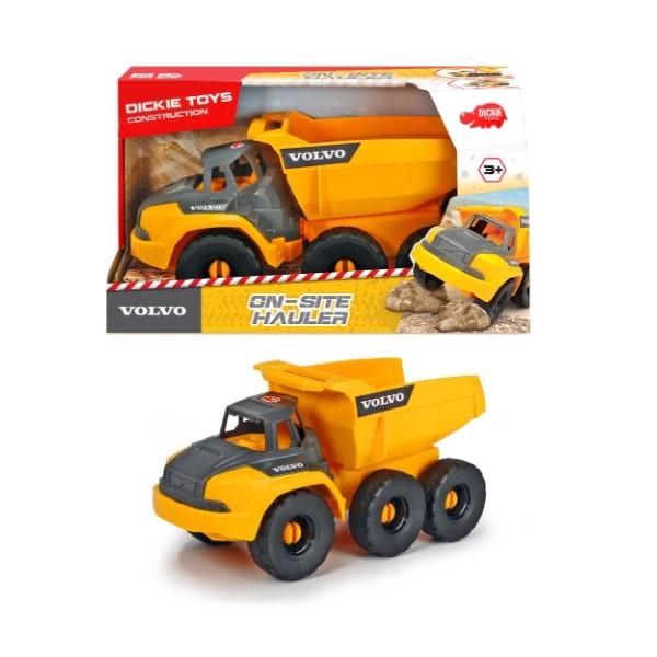 203724001 Đồ Chơi Xe Xây Dựng DICKIE TOYS Volvo On-site Hauler