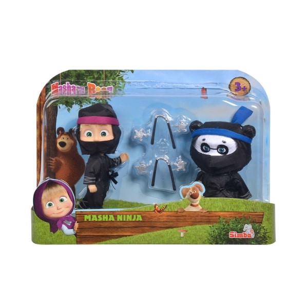 109301050 Đồ Chơi Búp Bê MASHA AND THE BEAR Masha Ninja