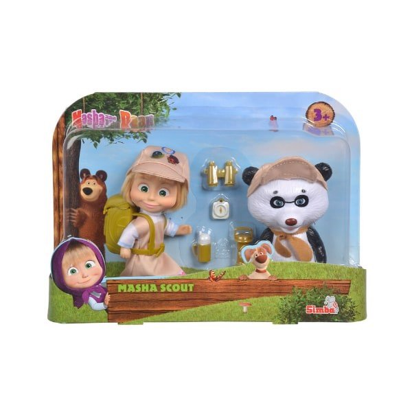 109301056 Đồ Chơi Búp Bê MASHA AND THE BEAR Masha Scout