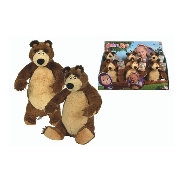 109301071 Đồ Chơi Gấu MASHA AND THE BEAR Masha Plush Bear