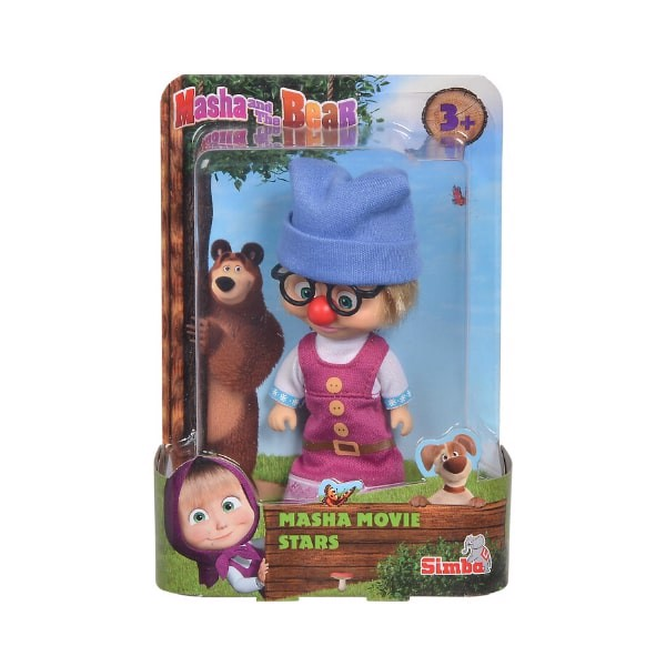 109301051 Đồ Chơi Búp Bê MASHA AND THE BEAR Masha Movie Stars II