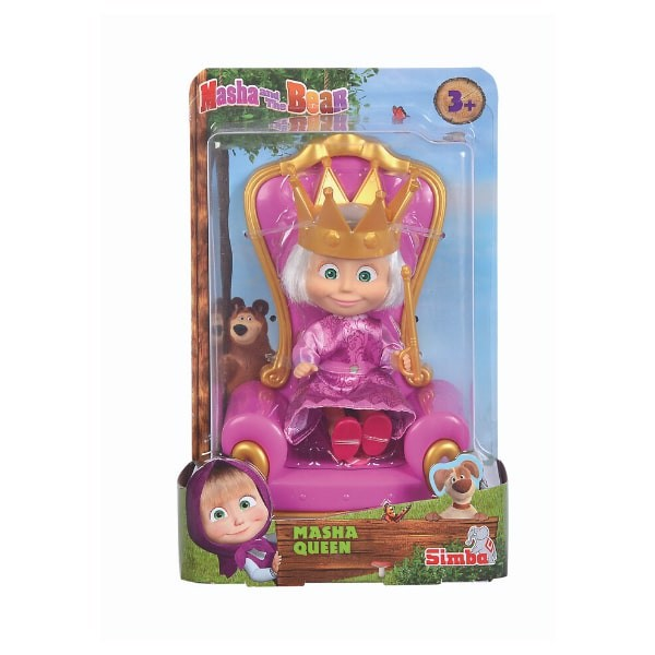 109301077 Đồ Chơi Búp Bê MASHA AND THE BEAR Masha Queen
