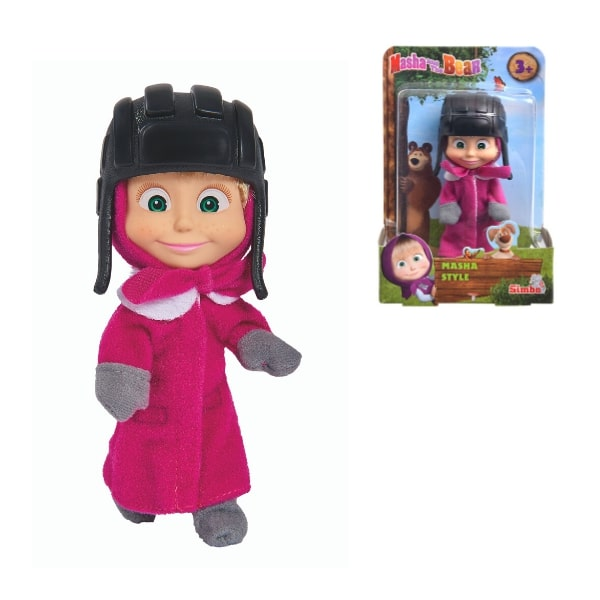 109301680 Đồ Chơi Búp Bê MASHA AND THE BEAR Masha Style