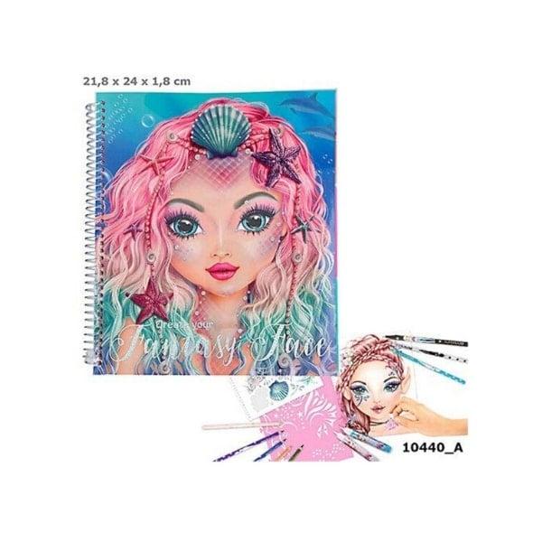 BST thiết kế thời trang Create Your Fantasy Face sticker Book TM10440