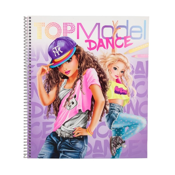 TM410959 BST thiết kế thời trang TOPModel DANCE Colouring Book
