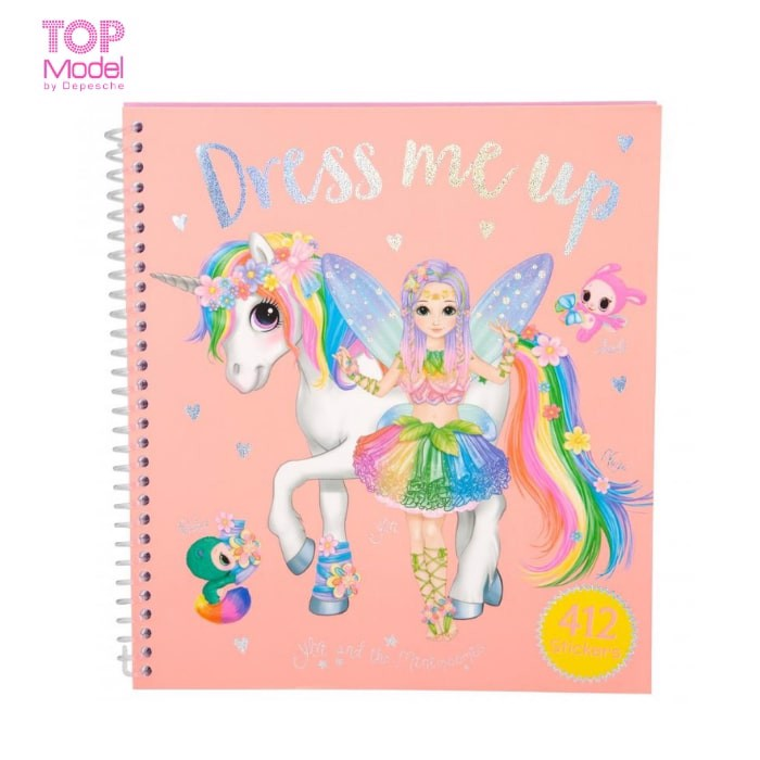 BST thiết kế Ylvi & the Minimoomis Dress Me Up kèm Sticker Topmodel 0410467