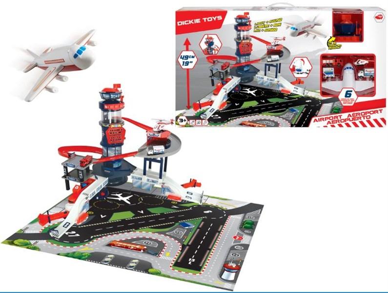 203749007 Bộ Đồ Chơi Mô Hình Sân Bay DICKIE TOYS Airport