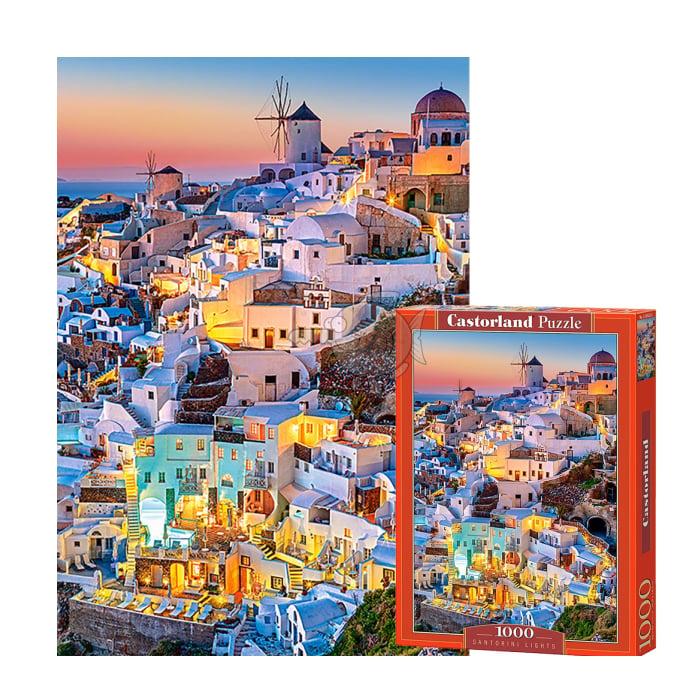 C103522 Xếp hình puzzle Santorini Lights 1000 mảnh Castroland