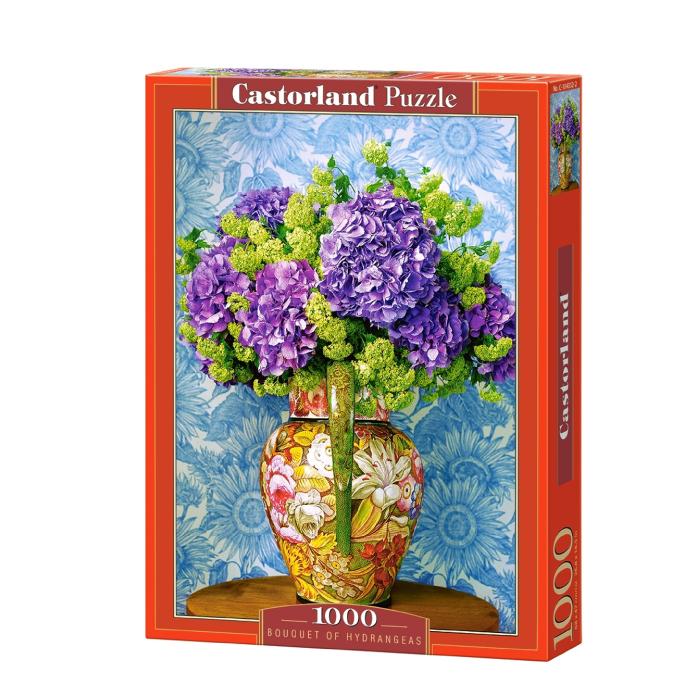 C104352 Xếp hình puzzle Bouquet of Hydrangeas 1000 mảnh Castroland