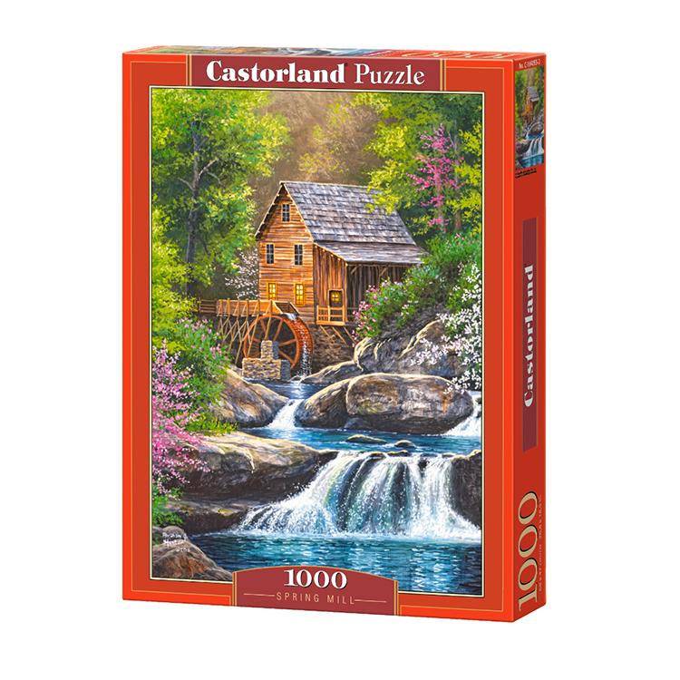 C1040552 Xếp hình puzzle Spring Mill 1000 mảnh CASTORLAND