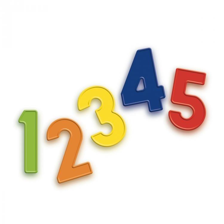 Đồ chơi Hình số nam châm QUERCETTI 5463