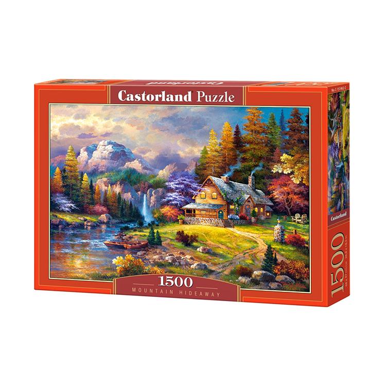 C1514622 Xếp hình puzzle Mountain Hideaway 1500 mảnh CASTORLAND
