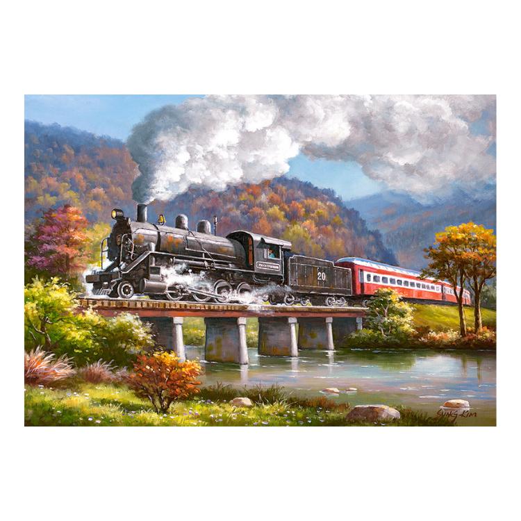 B0053452 Xếp hình puzzle Iron Horse 500 mảnh CASTORLAND