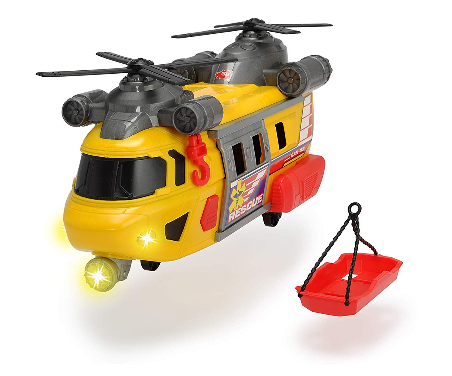 203306004 Trực thăng cứu hộ Rescue Helicopter Dicke Toys 30cm