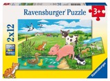 RV075829 Baby Farm Animals 2x12p
