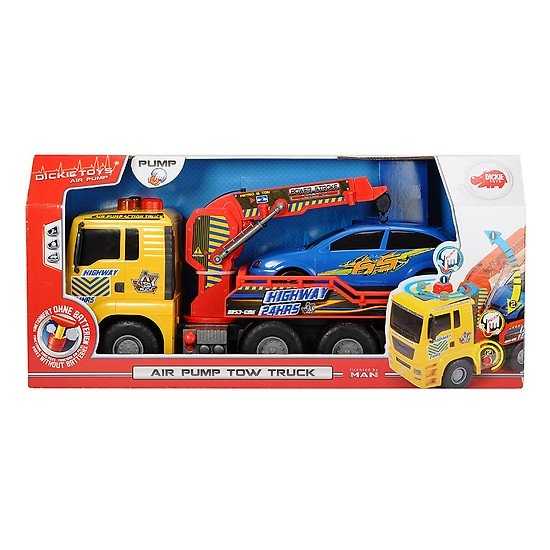 203809001 Xe cẩu khí nén Air Pump Tow Truck 55 cm