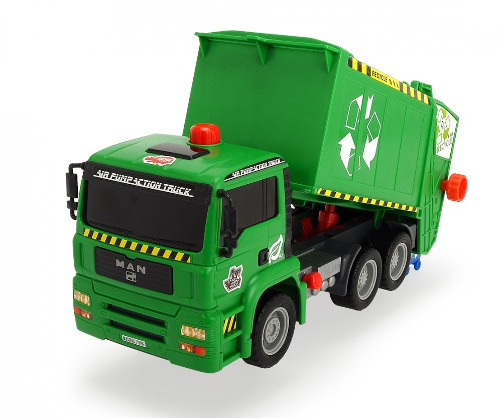 203805000 Đồ Chơi Xe Vệ Sinh Air Pump Garbage Truck DICKIE TOYS (31 cm)