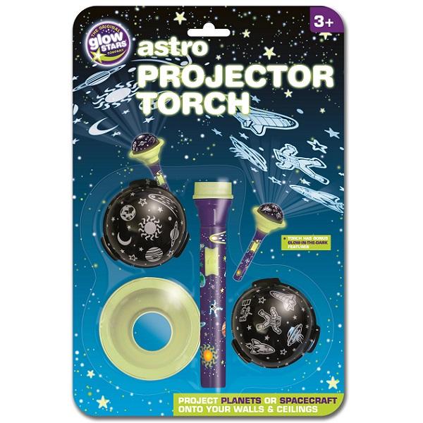 Đèn pin flashlight Brainstorm chủ đề vũ trụ B8501