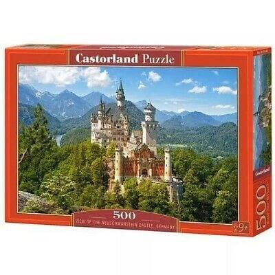 B0053544 Xếp hình puzzle View of the Neuschwanstein Castle, Germany 500 mảnh CASTORLAND