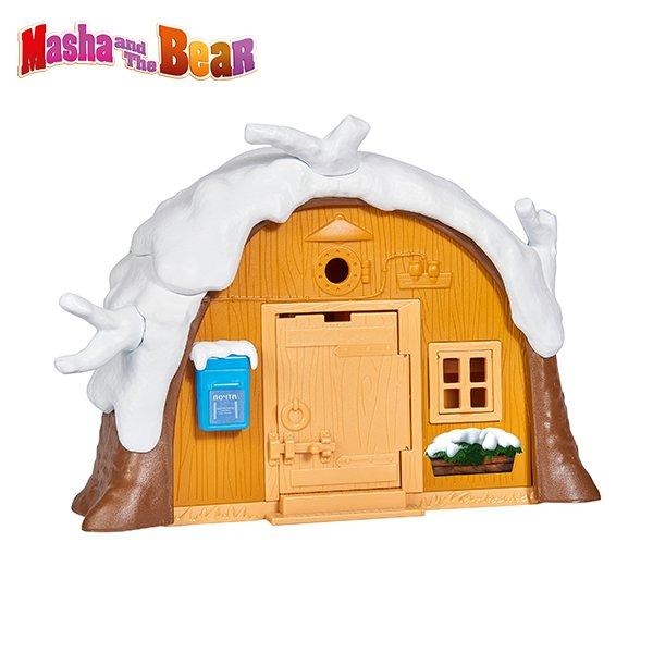 109301023 Mô hình nhà tuyết Masha and the Bear mùa đông