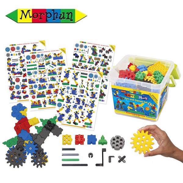 MP19010 Bộ lắp ráp Morphun Gearphun Fun and Games