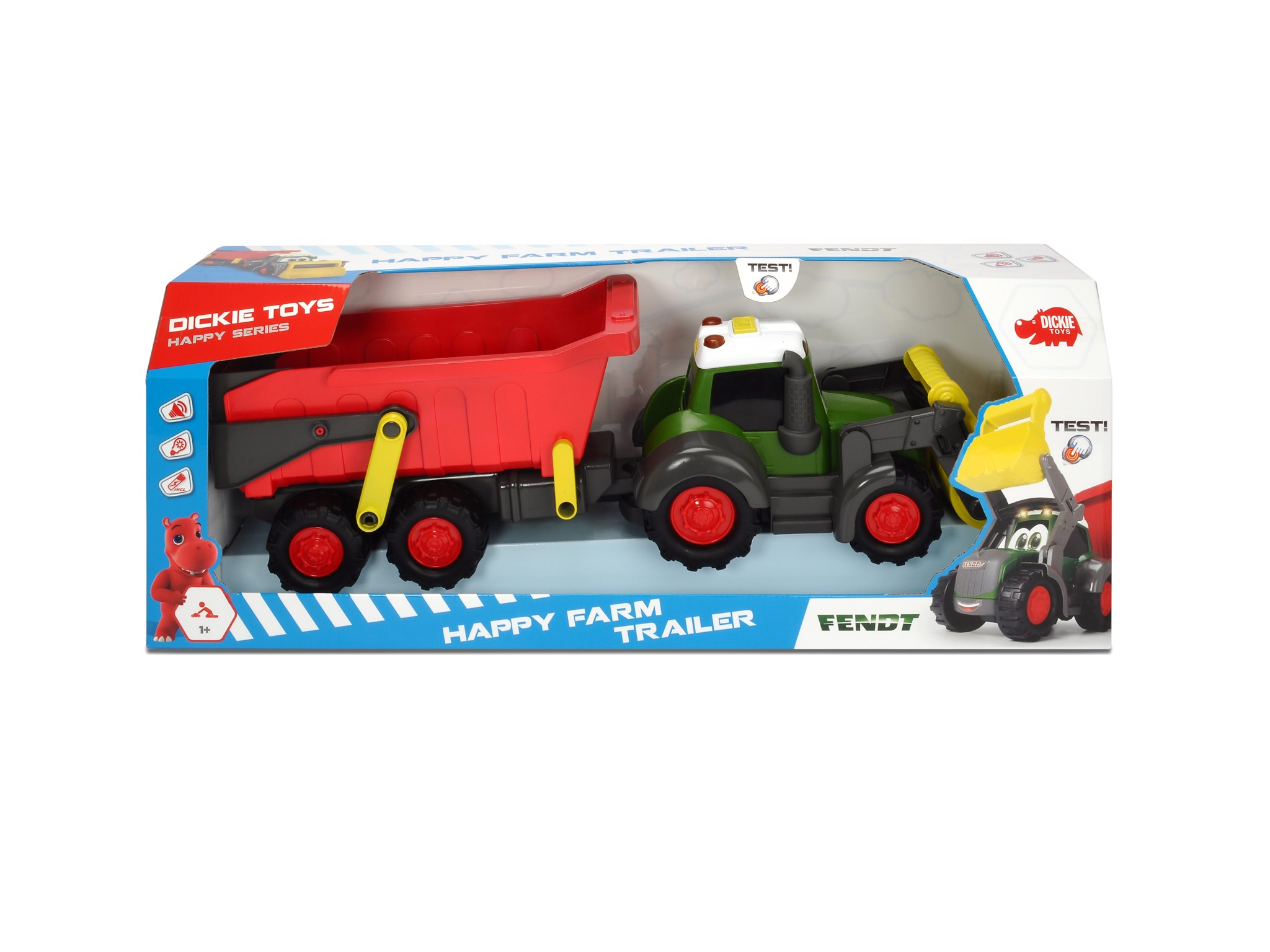 203819002 Happy Farm Trailer|3pcs